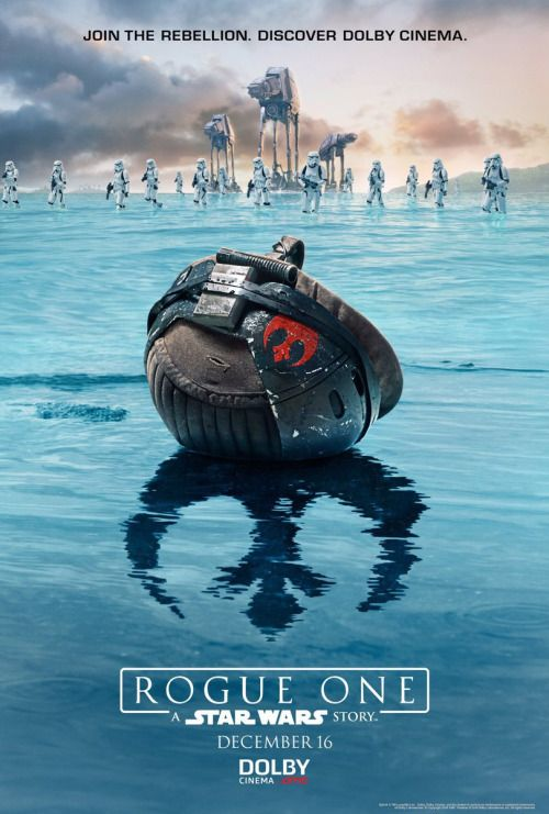 "starwarsartnow: ""Star Wars Rogue One exclusive cinemas posters """