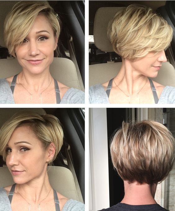 21 Best Short Hairstyles For Fine Hair Fryzury Krótkie