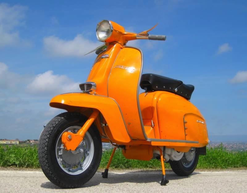 Orange Lambretta