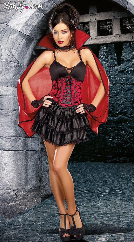 9a54ec3ca2 Dead Sexy Female Vampire Costume - the cape