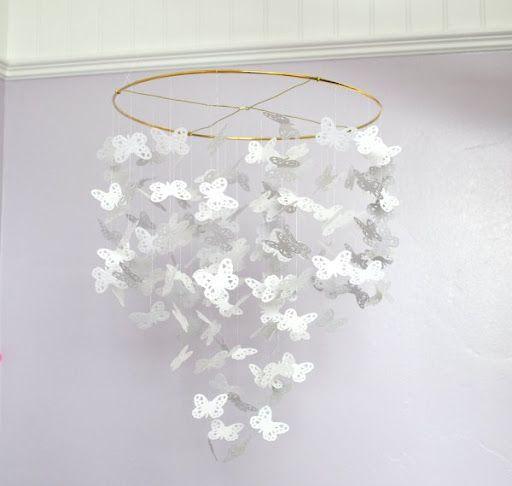 Handmade Butterfly Chandelier