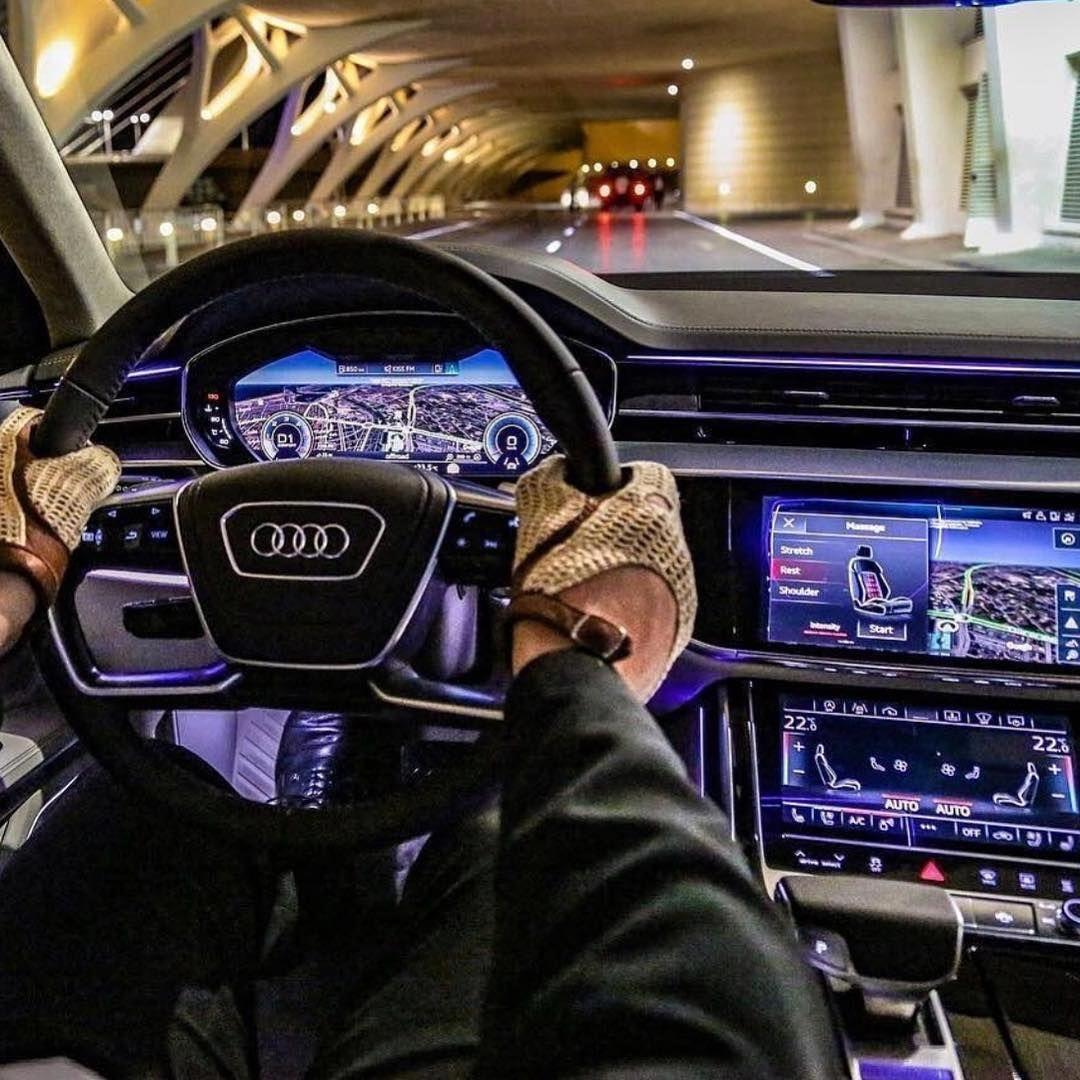 That interior! audi auto audivines audia8 quattro