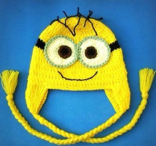Minion hat!! | Crafty stuff | Pinterest