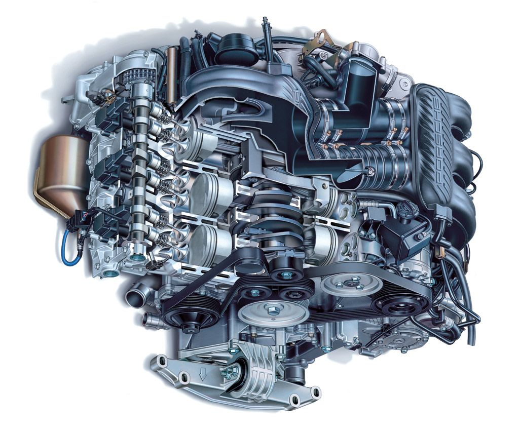porsche boxster engine cutaways porsche 2003 porsche boxster engine