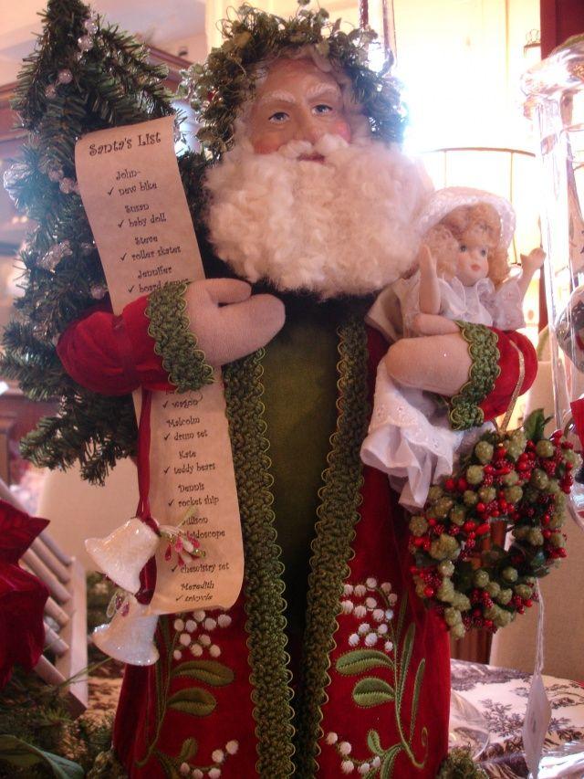 Handmade Lynn Haney Santa