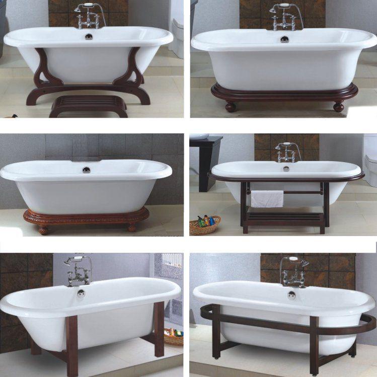 Extra Large Large Clawfoot Bathtub