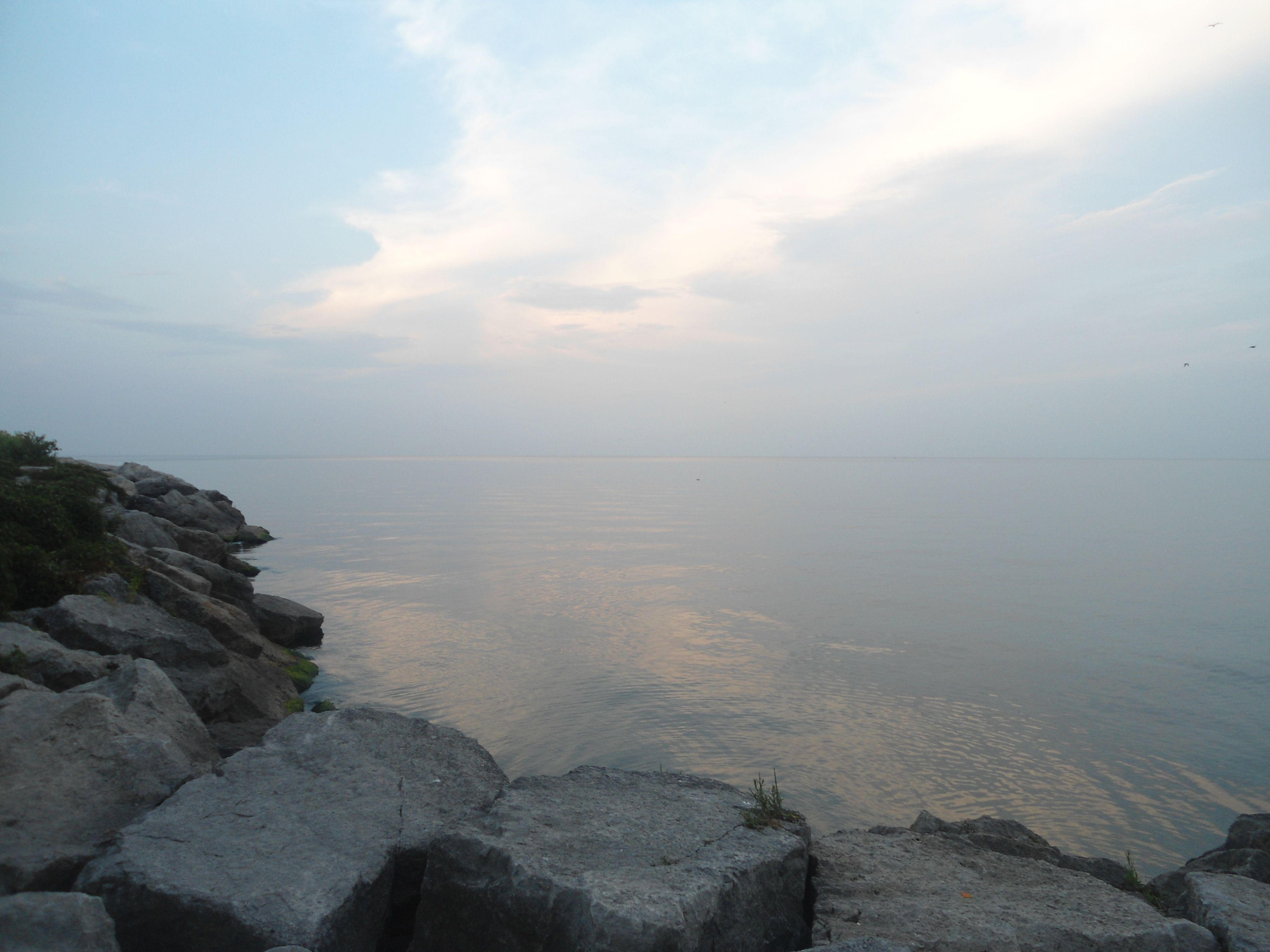 Serenity. Snap of Lake Ontario.