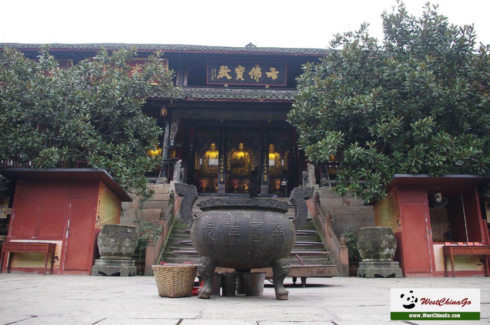 2Days Leshan Giant Buddha+Mt.Emei Panoramic plus Temple Stay