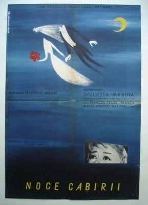 Noce Cabirii Lipinski 6743400194 Oficjalne Archiwum Allegro Polish Poster Film Posters Art Film Poster Design