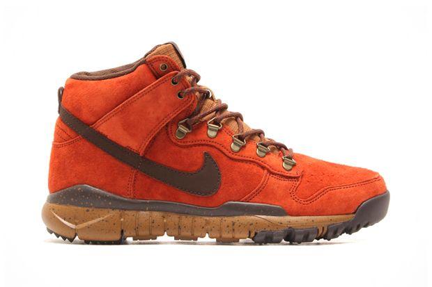 Poler x Nike SB Dunk High OMS -orange shoes is love! :)