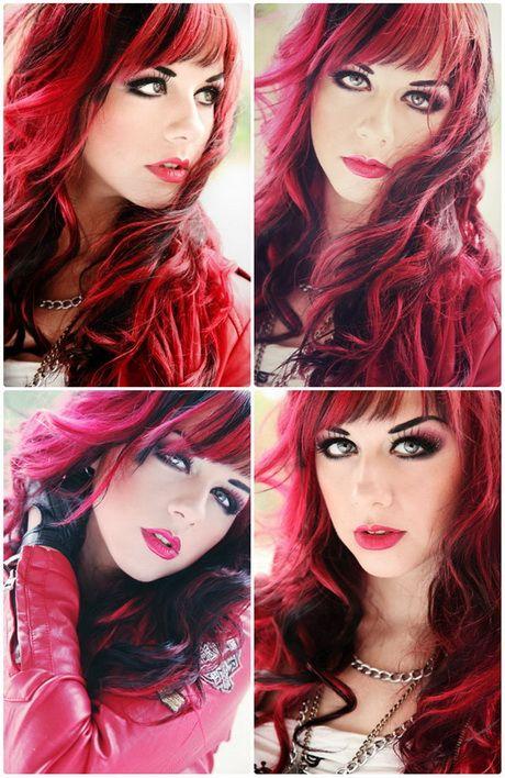 Rote Haare Blonde Strahnen Rote Haare Haare Mit Highlights