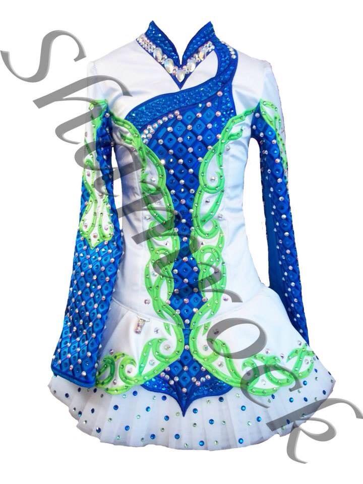 Shamrock Stitchery Irish Dance Solo Dress Costume