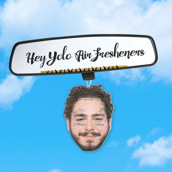 Post Malone Clean: Post Malone Inspired Air Freshener