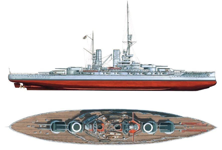 Sms Bayern Was The Lead Ship Of The Bayern Class Of Battleships
