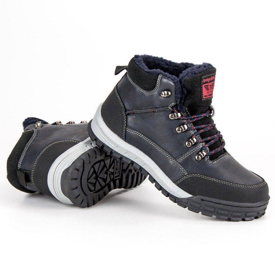 Trekkingowe Meskie Arrigobello Arrigo Bello Cieple Buty Zimowe Hiking Boots Shoes Boots