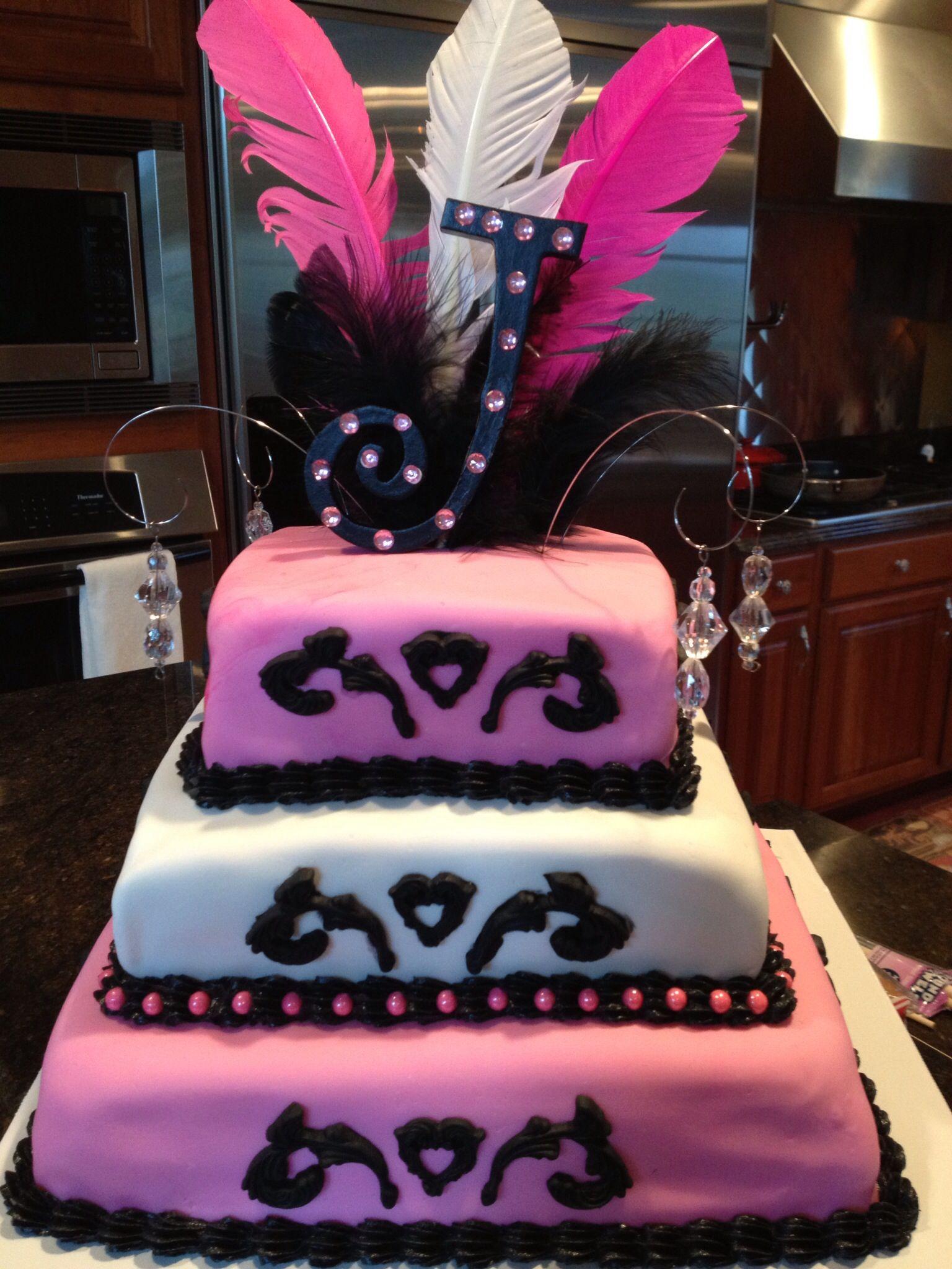 Jena's birthday jeweled cake | Jewel cake, Cake, Birthday cake