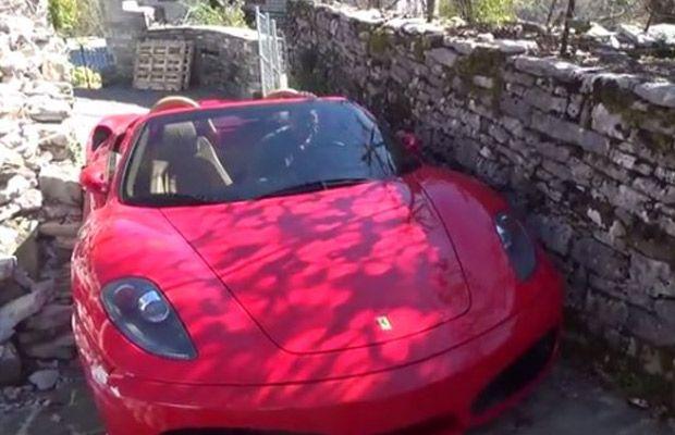 Μια Ferrari F430 στα… Ζαγοροχώρια! (video)