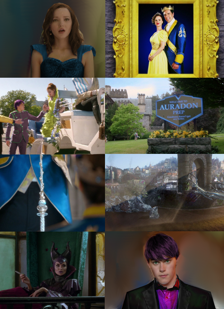 Disney Descendants AU - Role Reversal • In present-day