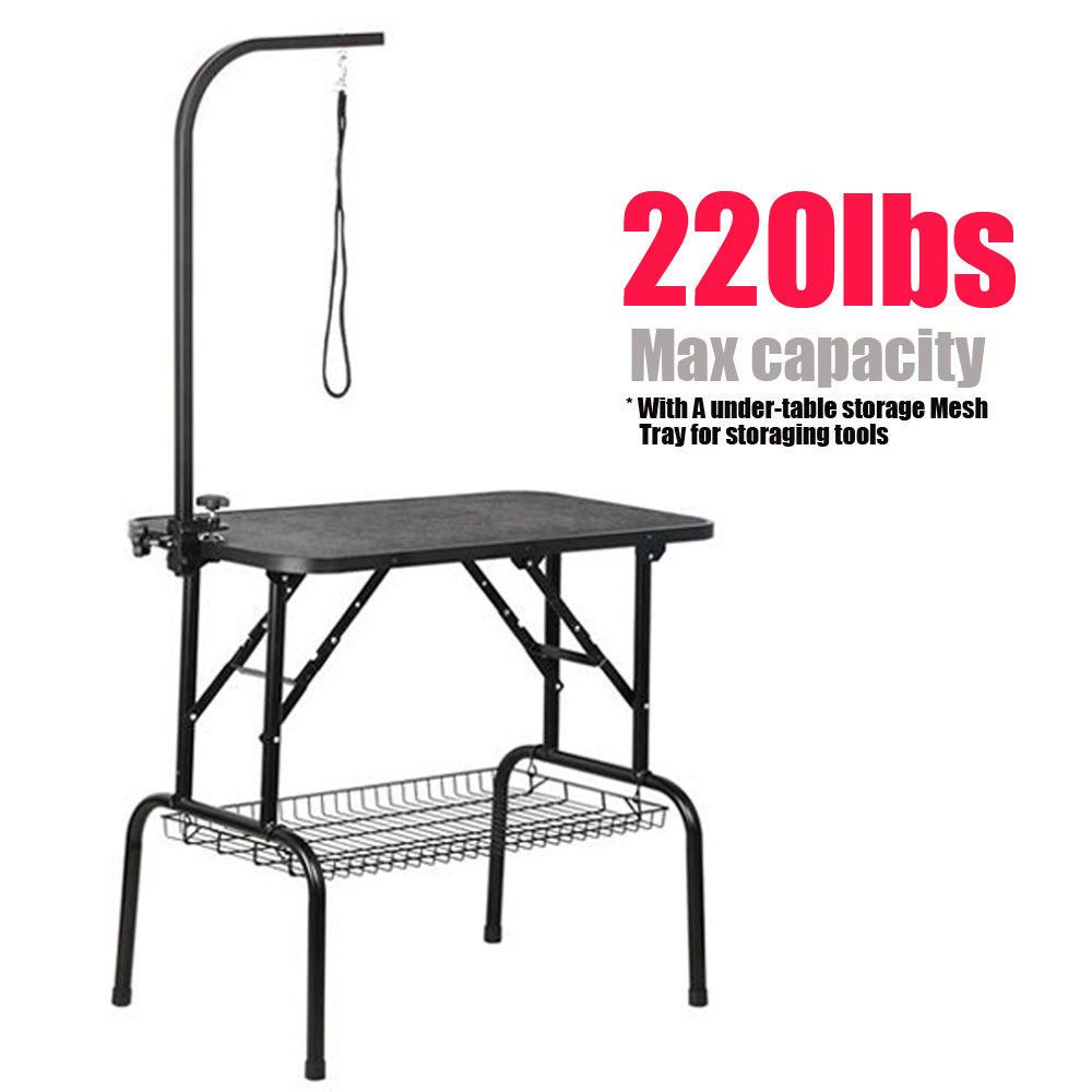36 Quot Pet Grooming Table Folding Dog Grooming Table Adjustable Arm W X2f Clamp This Is A Top Quality Fashion Style Cat Grooming Pet Grooming Dog Grooming