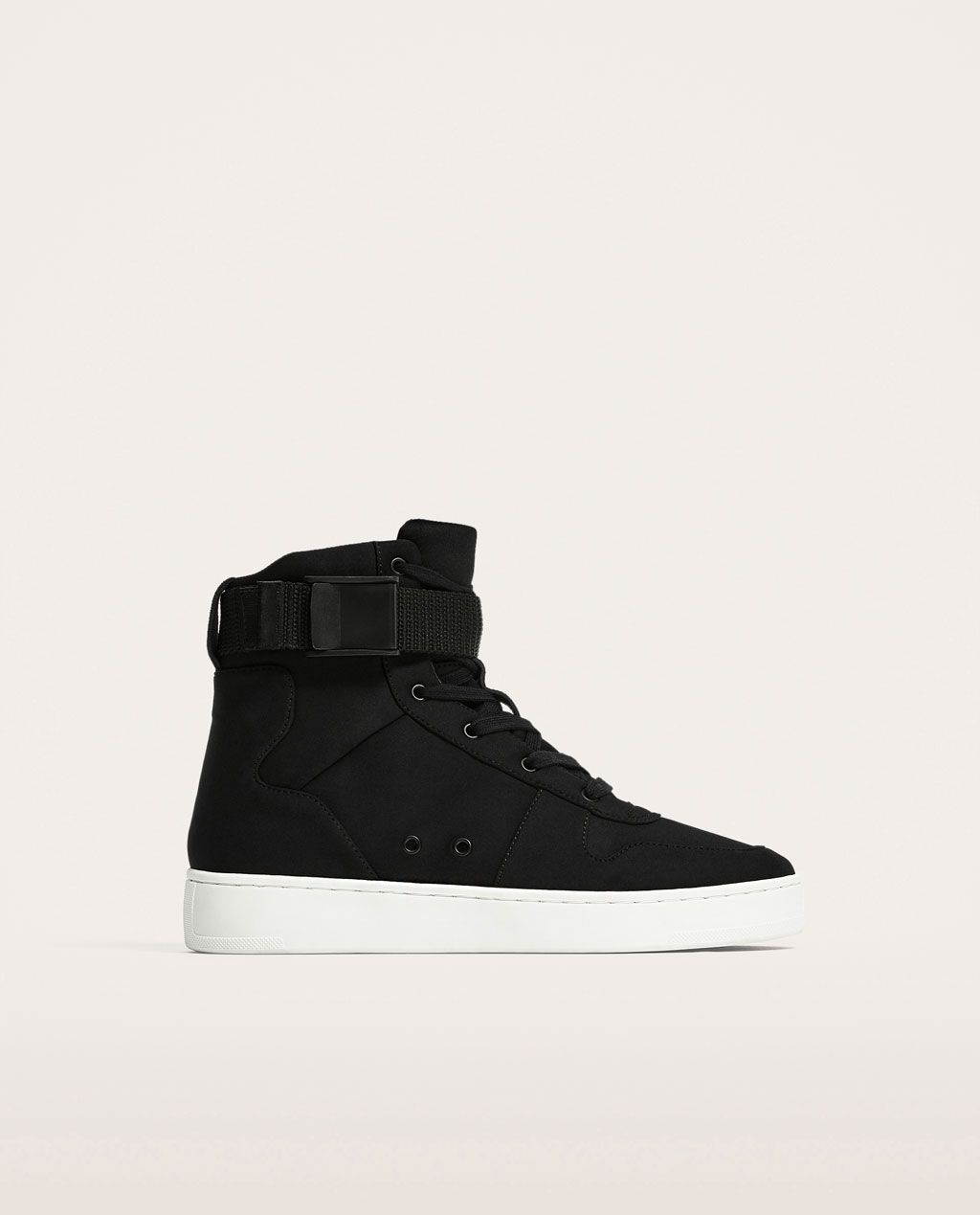 bcdfdb627d48 BLACK HIGH TOP SNEAKERS-View all-SHOES-MAN