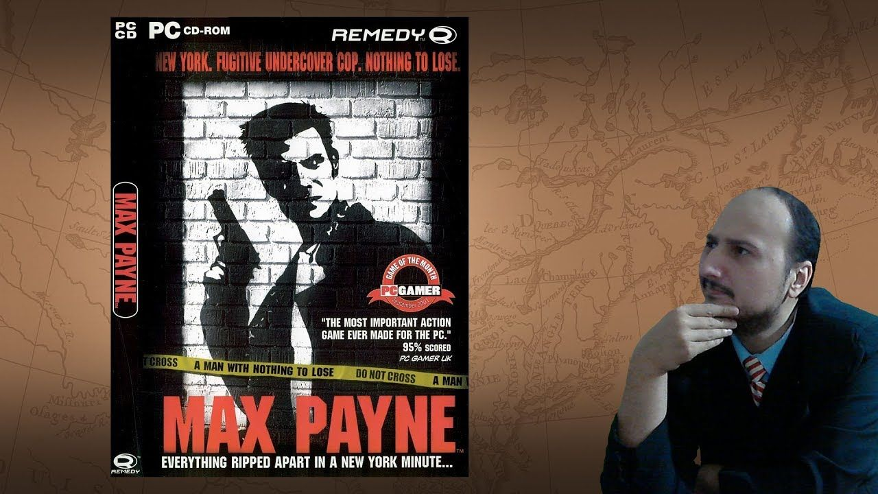 Gaming History Max Payne A Face You Ll Never Forget Youtube