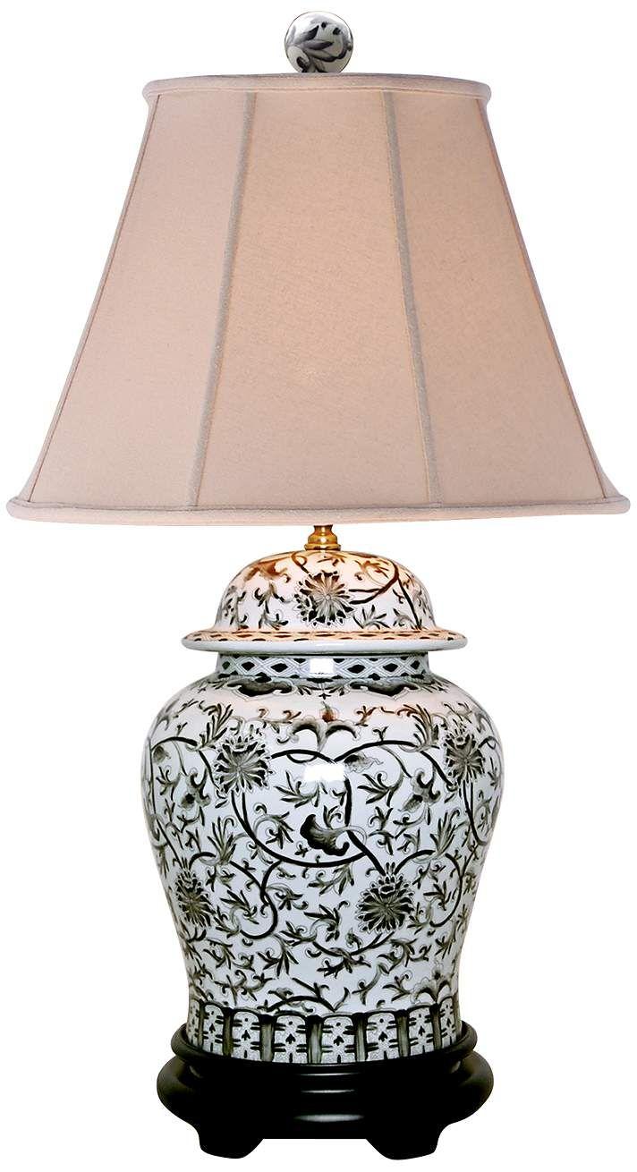 Jar Table Lamp Dark Grey | Grey