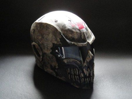 This Is So Badass Coldbloodart 3 Helmet Medic Helmet Paintball Mask Custom Helmets