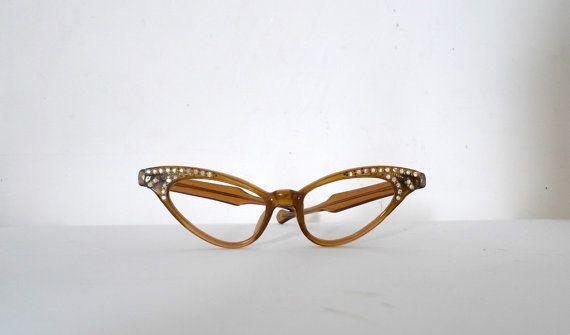 Vintage Winged Frame France Cat Eye Frames / by BibbysRocket