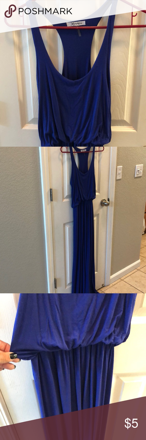Blue maxi dress my posh closet pinterest blue maxi dresses