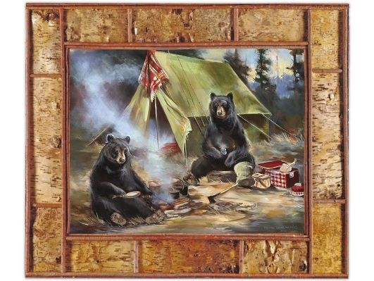 Camping Bears - Adirondack Country Store