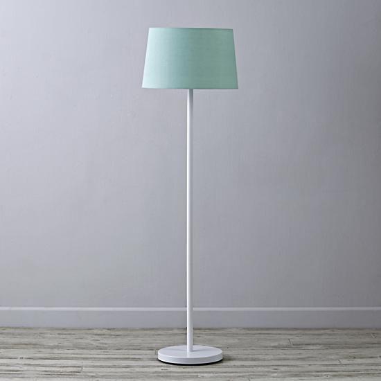 Light Years Floor Lamp Shade (Mint) | The Land of Nod ...