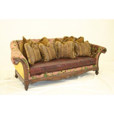 Sofa 9832 03 Old Hickory Tannery Old Hickory Tannery Grandmas