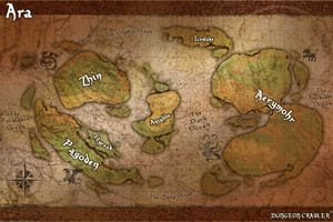 This 11x17 map depicts the world of ara by continent go to site to this 11x17 map depicts the world of ara by continent go to site to download as pdf ara dungeon crawler world map gumiabroncs Images