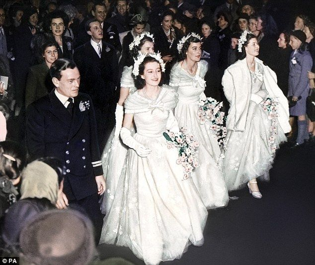 Relive the Queen's most joyous day as she married Prince Philip ...