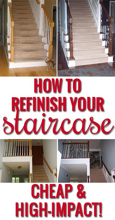 Best How To Refinish Your Staircase Update Your House With 640 x 480