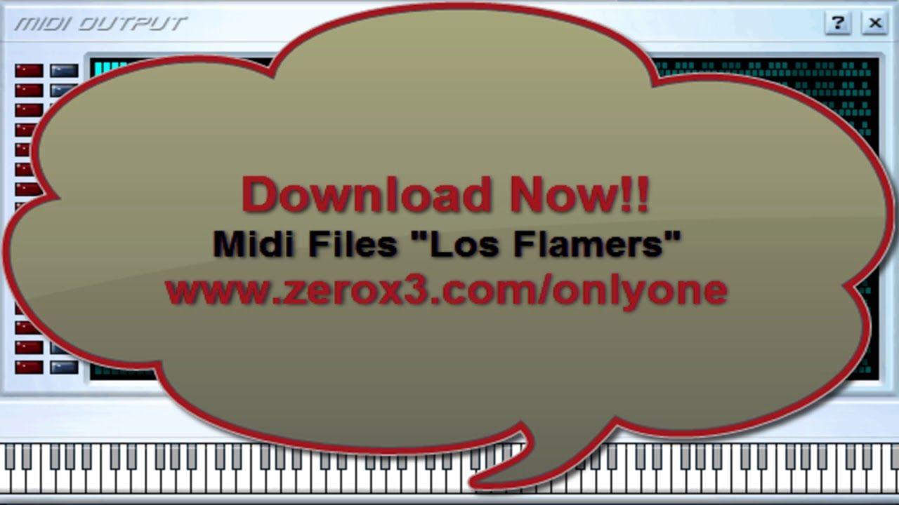 Bailemos Cumbia - Los Flamers - Midi File (OnlyOne) | midis