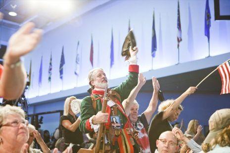 Lauren Lancaster photographs the Republican National Convention: http://nyr.kr/NvGGHW