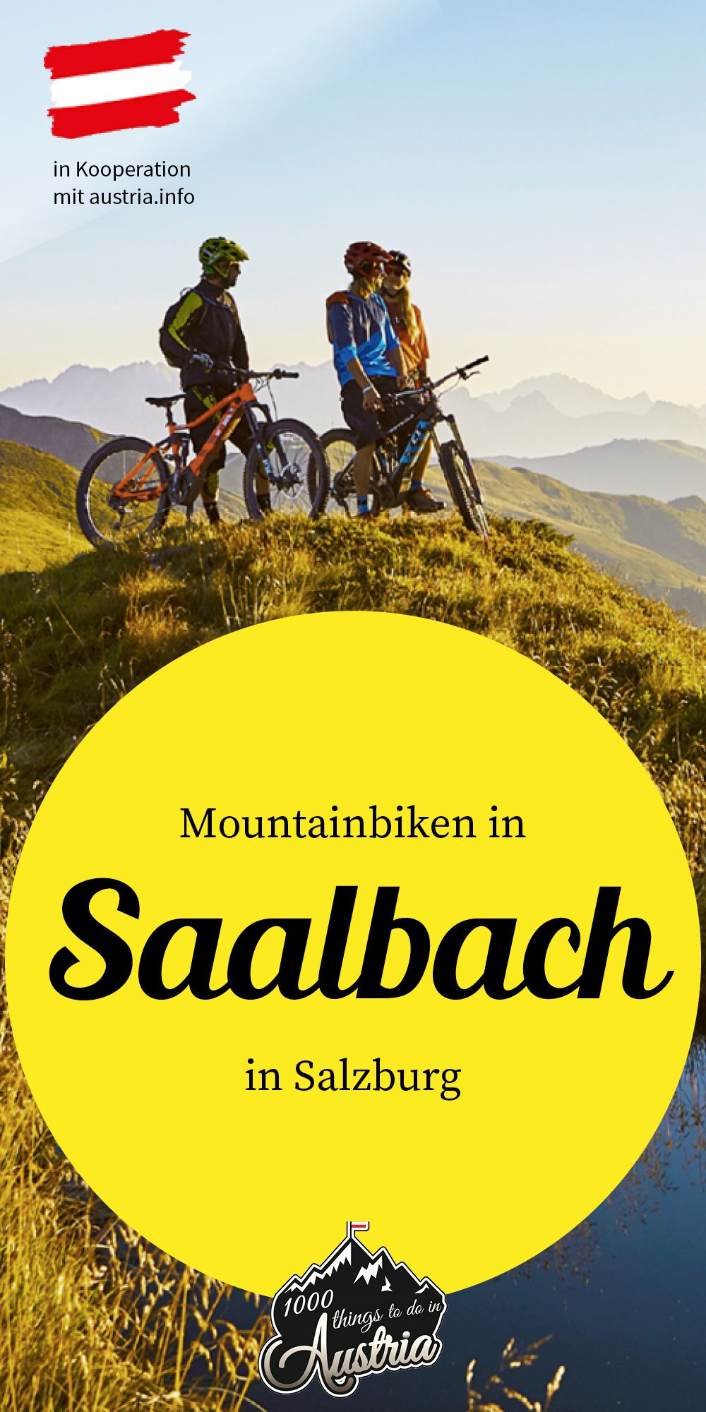 Mountainbiken in den Pinzgauer Alpen: Big 5 in Saalbach
