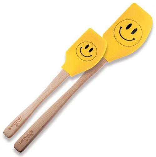 Smiley Face 2Pc Spatula Set - Tovolo
