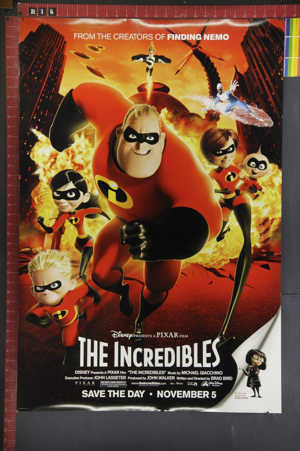 Movie Posters Original The Incredibles original animated