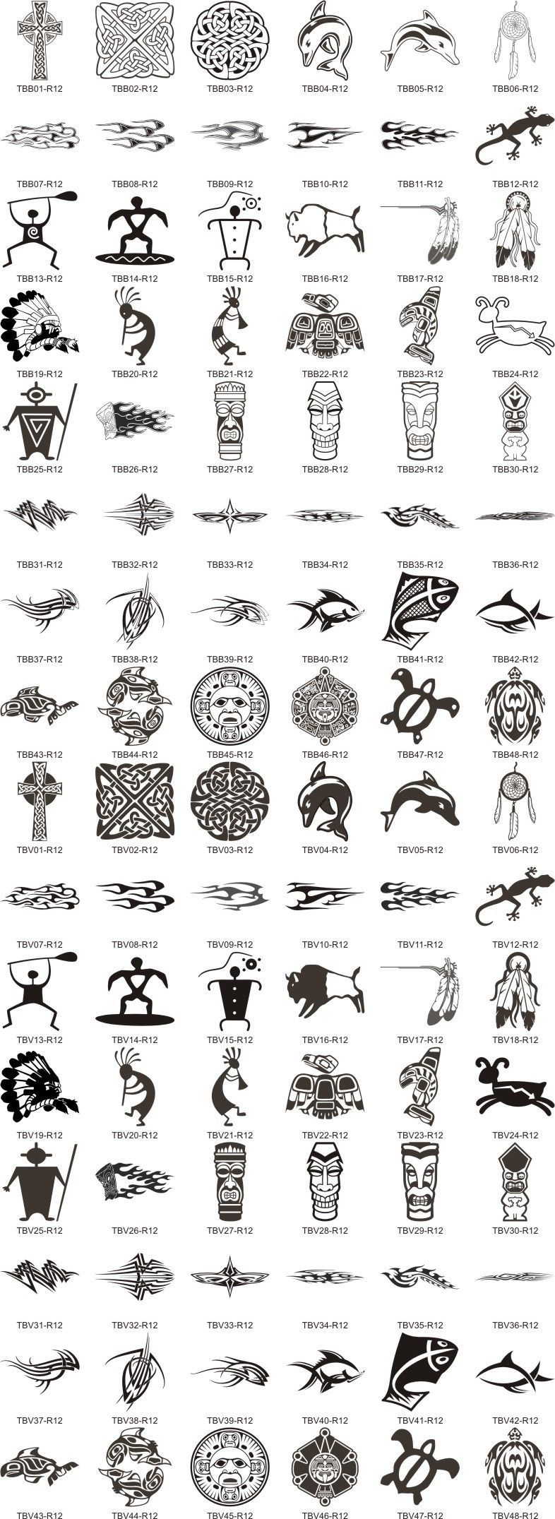 Symbols And Their Meanings Fonts And Symbols Filipino Tattoos In