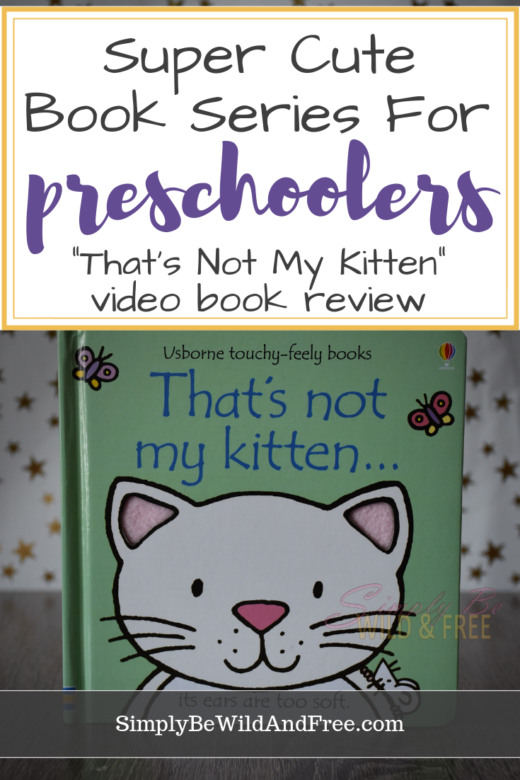 Usborne Books And More That S Not My Kitten Review Kids Reading Books Toddler Books Touchy Feely Books