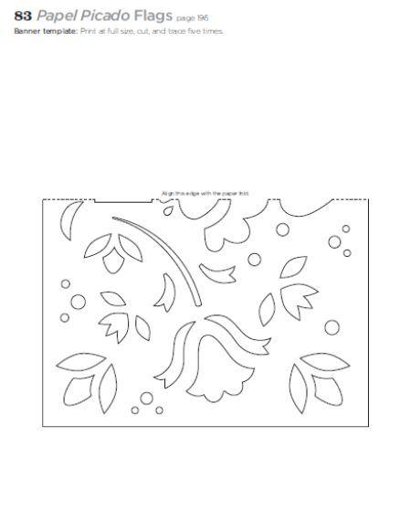 Papel Picado template: Discover Free Printable Templates