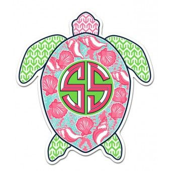 Simply southern turtle decal monogram pinterest - Simply southern backgrounds ...