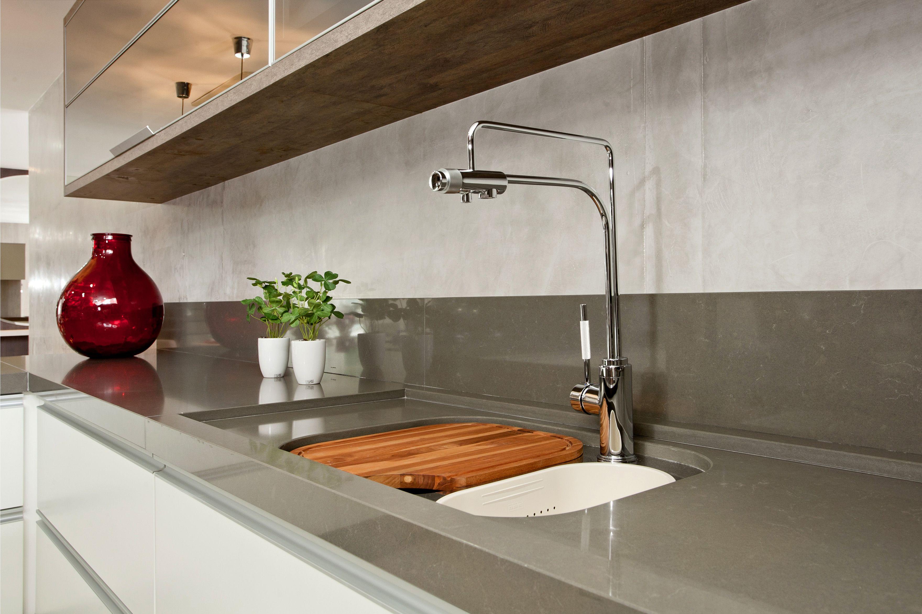 Belleza y funcionalidad en tu cocina con silestone - Silestone showroom ...
