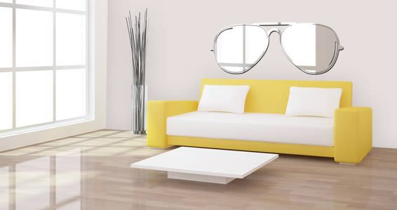 Sunglass acrylic wall mirror | Walls, Decorating and Room