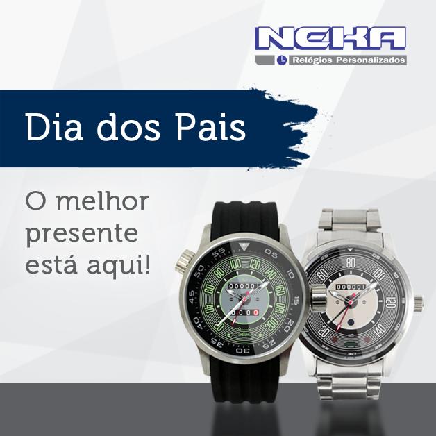 9b11081f7c0 Dia dos pais Neka relógios... vai de fusca!