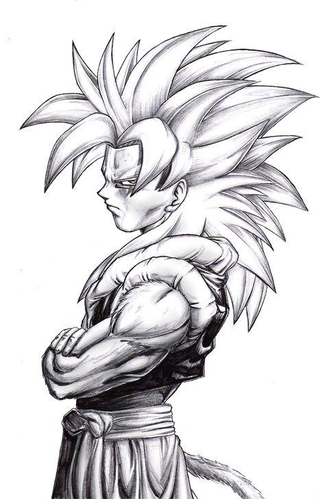 Gogeta Ssj4 2 By Novasayajingoku Cuerpos Para Dibujar