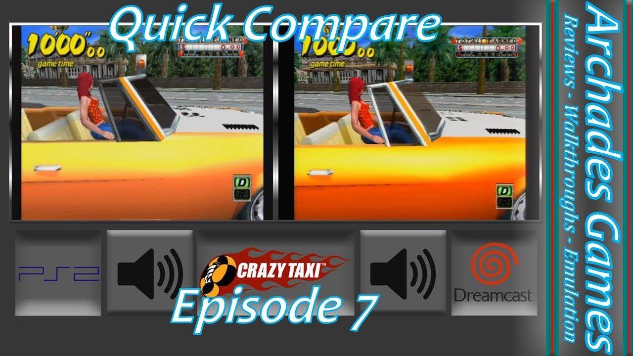 Crazy Taxi Dreamcast vs PlayStation 2 | Videos | Crazy taxi