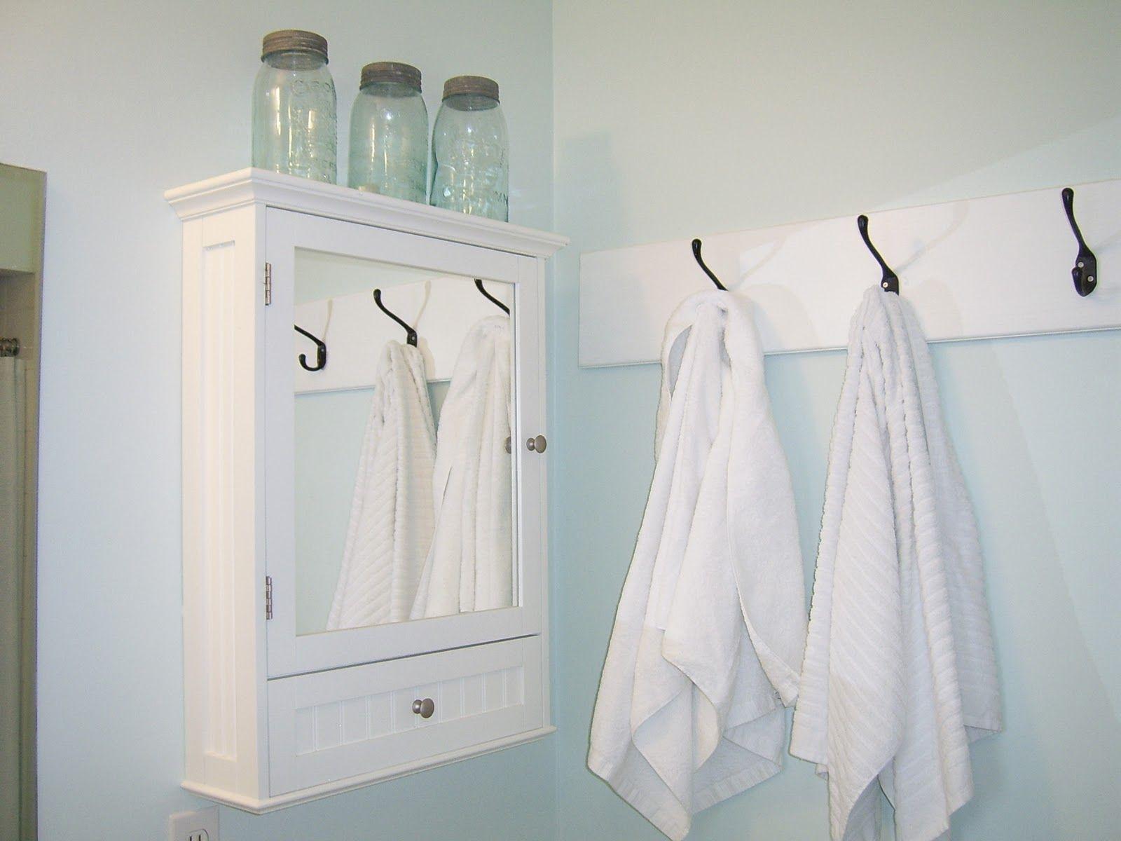 white towel hooks for bathrooms